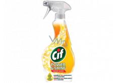 Cif Power & Shine Kuchyně tekutý čistící přípravek rozprašovač 500 ml