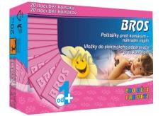 Bros Polštářky proti komárům náhradní náplň 20 kusů pro děti