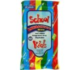 Icare School Kids Antibakteriální vlhčené ubrousky 10 kusů