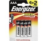 Energizer Ultra+ baterie AAA LR03 1,5V 6 kusů
