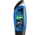Radox Men Feel Sporty Watermint & Sea Minerals 2v1 sprchový gel a šampon pro muže 250 ml