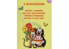 Albi Hrací přání do obálky K narozeninám Krteček chystá překvapení Children s dance 14,8 x 21 cm