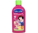 On line Kids Sněhurka Hruška 2v1 sprchový gel a šampon na vlasy pro děti 250 ml