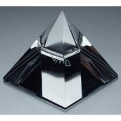 Skleněná pyramida křišťál 40 mm