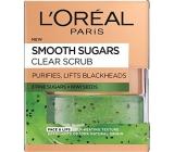 Loreal Paris Smooth Sugars Clear Scrub jemný čisticí cukrový peeling 50 ml