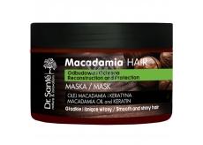 Dr. Santé Macadamia Hair Makadamový olej a keratin maska na oslabené vlasy 300 ml