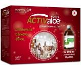 Barnys Activaloe Lékárenská Aloe k pročištění organismu, při problémech se zažíváním, podporuje imunitu a přispívá k fyzické pohodě 3 x 500 ml, dárkové balení