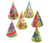 Kloboučky karnevalové různé motivy 6 ks v balení