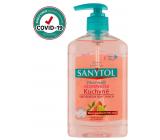 Sanytol Růžový grapefruit & Svěží citrón dezinfekční mýdlo na ruce do kuchyně 250 ml s dávkovačem