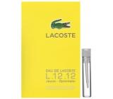 Lacoste Eau de Lacoste L.12.12 Yellow (Jaune) toaletní voda pro muže 2 ml s rozprašovačem, Vialka
