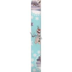 Nekupto Vánoční balicí papír světle modrý Olaf 2 x 0,7 m