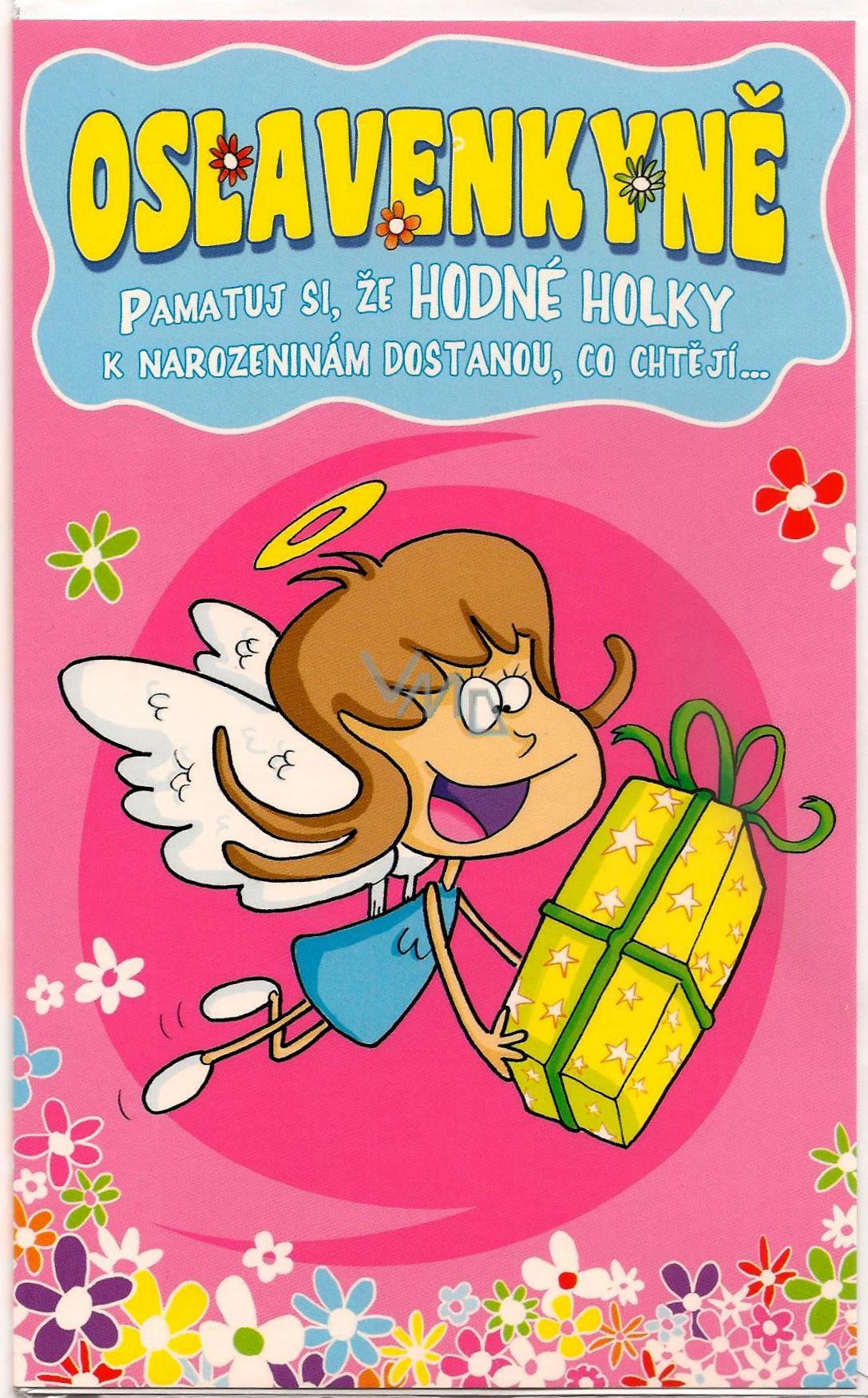 přání k 15 narozeninám vtipné Nekupto Přání k narozeninám Oslavenkyně G 31 3133   VMD parfumerie  přání k 15 narozeninám vtipné