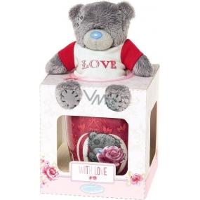 Me to You Hrneček s plyšovým medvídkem v tričku Love 10 cm