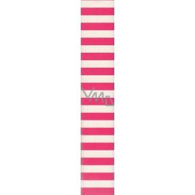 Nekupto Balící papír Klasik bílorůžové pruhy 70 x 150 cm 795 30 BF
