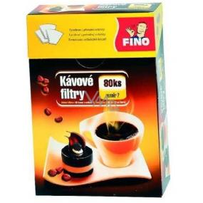 Fino Kávové filtry 80ks 2 velikost