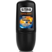Str8 Cool + Dry Thermal Protect 48h kuličkový antiperspirant deodorant roll-on pro muže 50 ml