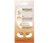 Garnier Moisture + Fresh Look s šťávou z pomeranče a kyselinou hyaluronovou povzbuzující textilní maska na oči 15 minutová 6 g