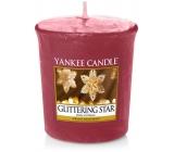 Yankee Candle Glittering Star - Zářivá hvězda vonná svíčka votivní 49 g