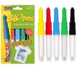 BLO pens Foukací fixy na textil 5 kusů