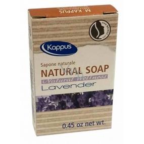 Kappus Natural Levandule certifikované přírodní toaletní hotelové mýdlo 13,5 g