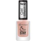 Dermacol 5 Day Stay Gel Effect dlouhotrvající lak na nehty s gelovým efektem 27 Parisien Chic 12 ml