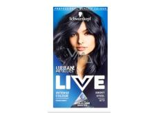 Schwarzkopf Live Urban Metallics barva na vlasy U73 Smoky Steel
