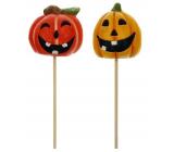 Emocio Halloween Dýně keramická zápich 1 kus různé motivy