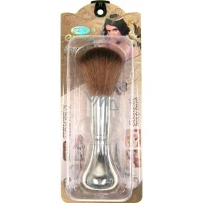 EBM Exmon Kosmetický štětec na pudr 30350 stříbrný 13 cm