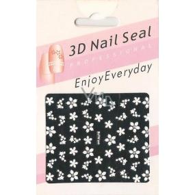 Nail Accessory 3D nálepky na nehty 10100 SJW20 1 aršík
