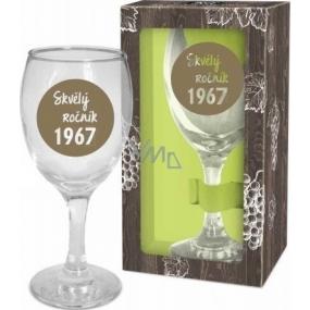 Albi Můj Bar Sklenka na víno 1967 220 ml