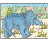 Malování vodou dinosauři č.1 28 x 21 cm