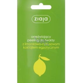 Ziaja Citrusový koktejl peeling na obličej sáček 7 ml