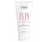 Ziaja BB SPF 15 krém normální, suchá a citlivá pleť 01 Light 50 ml