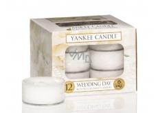 Yankee Candle Wedding Day - Svatební den vonná čajová svíčka 9,8 g 12 kusů