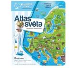 Albi Kouzelné čtení interaktivní mluvící kniha Atlas světa, věk 6+