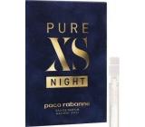 Paco Rabanne Pure XS Night parfémovaná voda pro muže 1,5 ml s rozprašovačem, Vialka