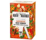 Heat & Heather Bio Kurkuma, zázvor, galangal a ženšen na podporu a povzbuzení organismu s účinnými kořeny podpůrný čaj 20 sáčků x 1,5 g