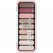 Essence The Rose Edition Eyeshadow Palette paletka očních stínů 20 Lovely In Rose 10 g