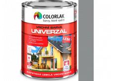 Colorlak Univerzal SU2013 syntetická lesklá vrchní barva Hliník 0,6 l
