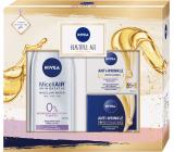 Nivea Beautiful Age denní krém 50 ml + noční krém 50 ml + micelární voda 200 ml, kosmetická sada pro ženy