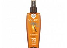 Astrid Sahara OF20 voděodolný olej na opalování s kokosovým olejem sprej 150 ml