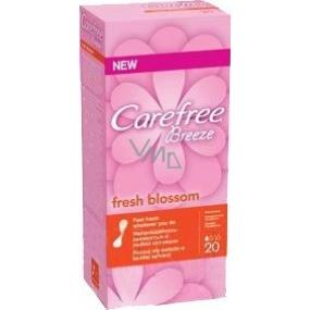 Carefree Breeze Fresh Blossom slipové intimní vložky 20 kusů