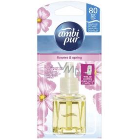 Ambi Pur Flowers & Spring elektrický osvěžovač náplň 20 ml