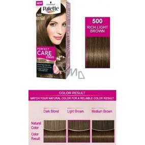 Schwarzkopf Palette Perfect Color Care barva na vlasy 500 Sytý světle hnědý