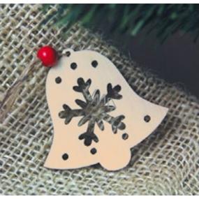 Předloha ze dřeva zvonek 6 cm 4 kusy