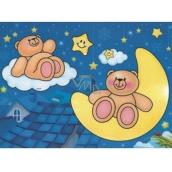 Malování vodou se štětcem Medvídci 20 x 15 cm