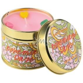 Bomb Cosmetics Bohémské mámení - Bohemian doze Vonná přírodní, ručně vyrobena svíčka v plechové dóze hoří až 35 hodin