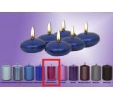 Lima Čočka plovoucí svíčka středně fialová 50 x 25 mm 6 kusů