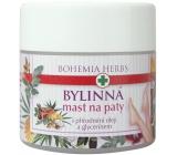 Bohemia Gifts & Cosmetics Bylinná mast na paty s přírodními oleji a glycerínem 120 ml