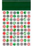 Nekupto Dárková papírová taška s ražbou malá 18 x 11 x 8 cm Vánoční 1495 WLFS